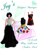 Ivy's Designer Boutique A Little Bling Collection Fashion Pack